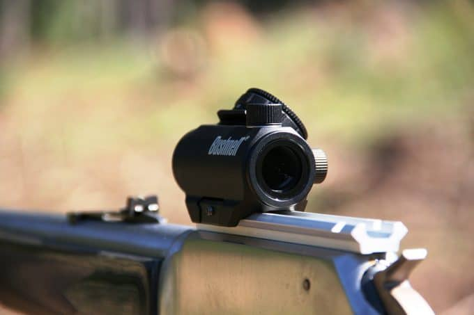 typical bushnell red dot sight