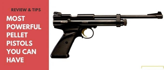 most powerful pellet air pistol
