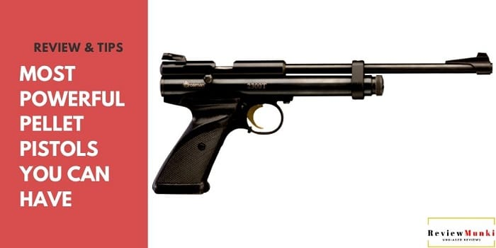 7 Most Powerful Pellet Pistols (Air Pistols) of 2020 Reviewed