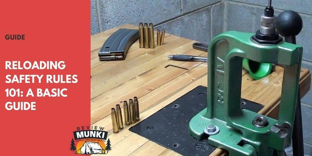 reloading safety rules
